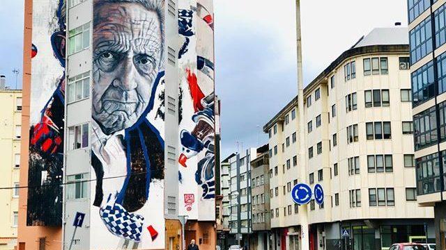 Mural de Lula Goce en Sada.