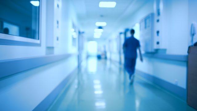 Imagen de archivo de un hospital