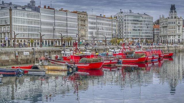 10 Fotos Increíbles De La Marina De A Coruña