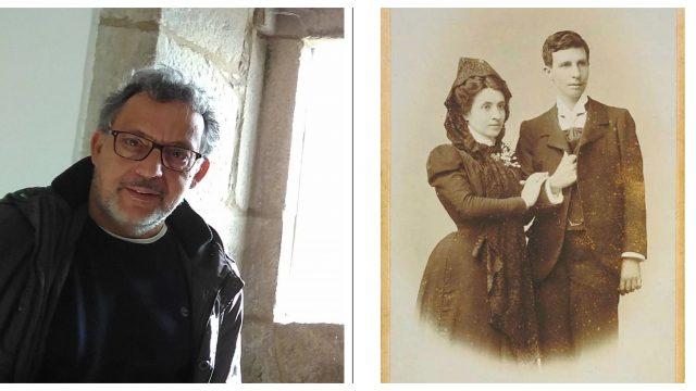 Narciso de Gabriel investigó durante 15 años la historia, y fue responsable del hallazgo de la foto original de la boda