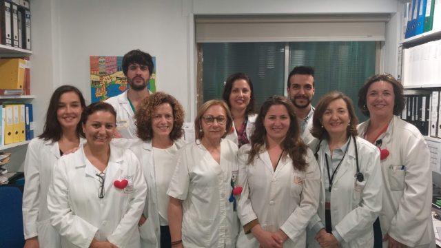 Equipo de la Unidad de Insuficiencia Cardíaca del CHUAC