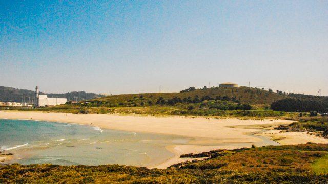 Playa de Sabón, en Arteixo