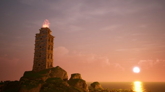 La Torre de Hércules, en The Waylanders