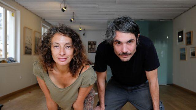 Carlota Pérez y Jacobo Ameneiro, gerentes del local