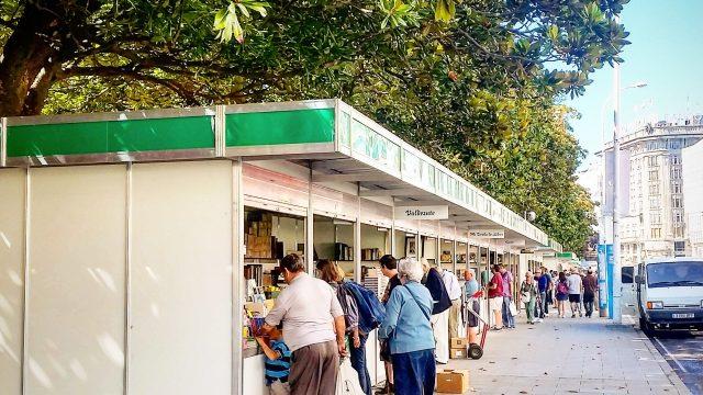 Feria del Libro Antiguo de A Coruña.