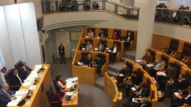 Pleno de la Diputación, en una imagen de archivo