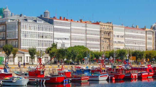 Las galerías de A Coruña y el diente de oro