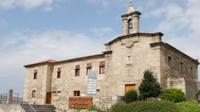 Fachada de San Cristobal das Viñas