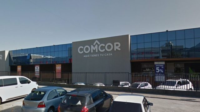 El centro comercial Comcor.