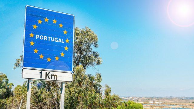 Frontera con Portugal