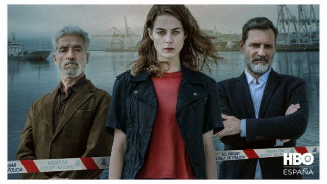 Imagen de la serie Auga seca, la primera producción en gallego en emitirse en HBO.