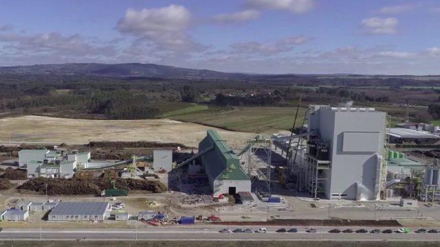 Planta de biomasa en Teixeiro.