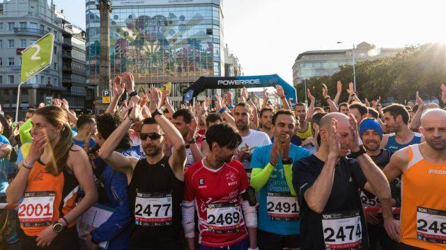 Imagen de la maratón de A Coruña del 2018.