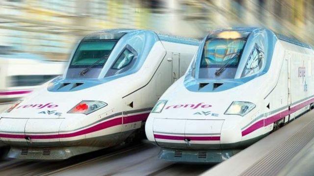 Imagen de archivo de trenes.