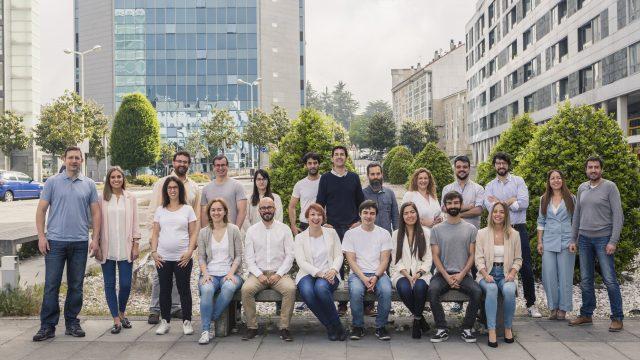 El equipo de Teimas, responsables del proyecto