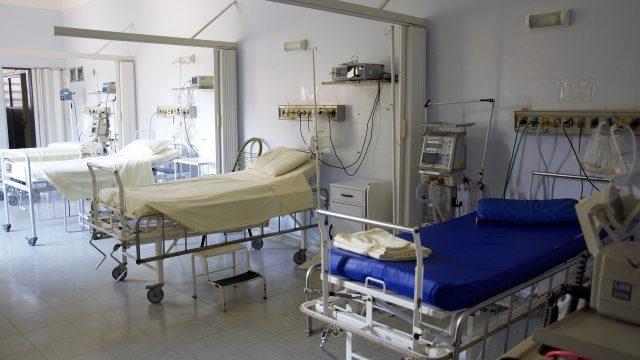 Una foto de archivo de un hospital.