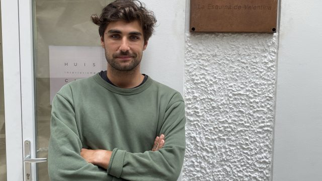 Nacho Moreira, responsable de La Esquina de Valentina.