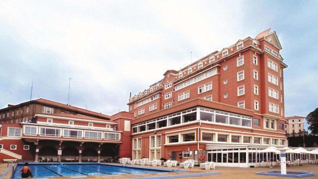 El hotel NH Collection Finisterre de A Coruña.