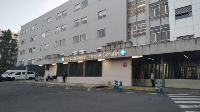 El CHUAC de A Coruña.
