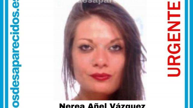 Nerea Añel, desaparecida en enero de 2020 en Ourense