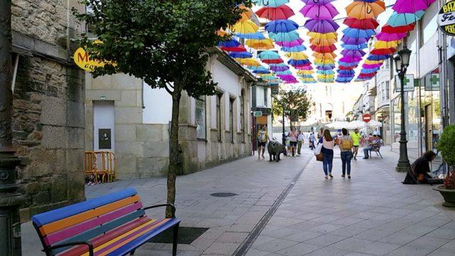Foto 1. Calles de Lalín