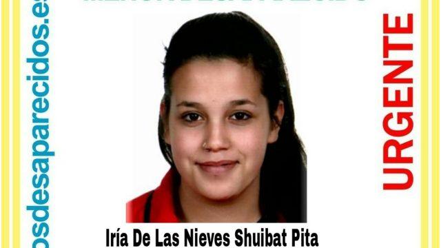 Iria de las Nieves Shuibat Pita.