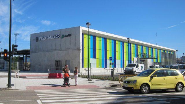 La Estación Guixar de Vigo.