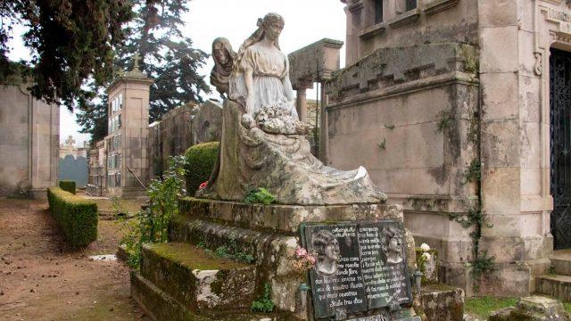 Cementerio de Pereiró, en Vigo.