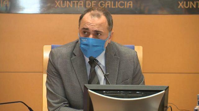 El conselleiro de Sanidade, Julio García Comesaña.
