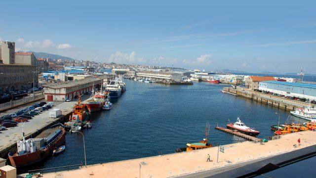 Puerto Pesquero de Vigo.