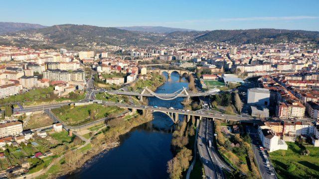 La ciudad de Ourense.