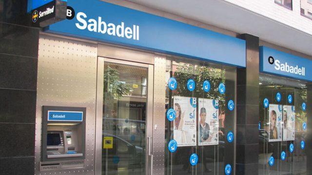 Oficina del Banco Sabadell.