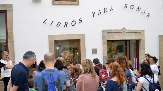 La librería 'Libros para soñar' en la calle Triunfo.