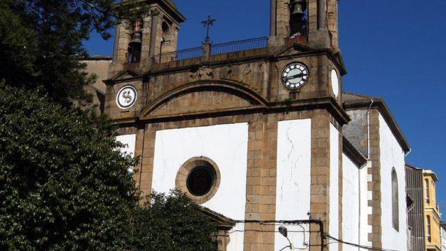 La Iglesia de Nuestra Señora de los Dolores de Ferrol.