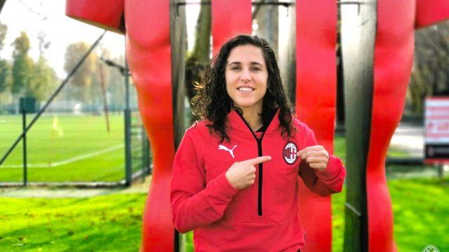 La jugadora Vero Boquete.