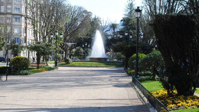Plaza de Compostela, en Vigo