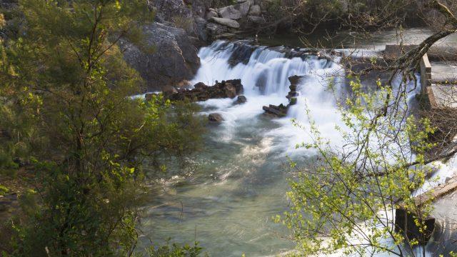 Imagen de archivo del embalse del río Lérez en Bora (Pontevedra)
