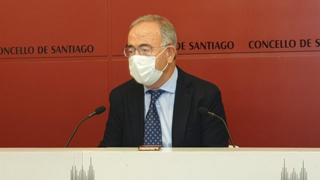 El alcalde de Santiago de Compostela, Xosé Sánchez Bugallo, en una foto de archivo