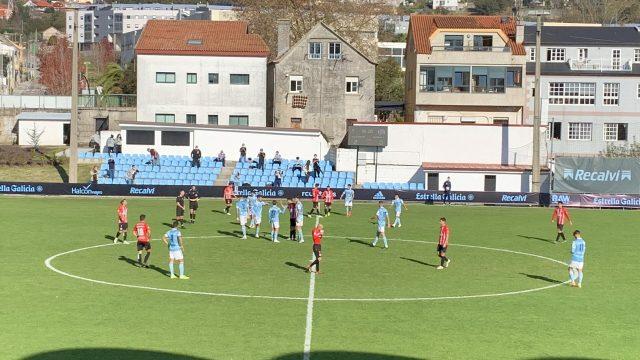 Final del Celta B-Zamora con 150 espectadores en Barreiro