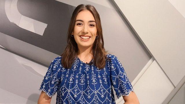 Esther Estévez, presentadora del programa Dígocho eu.