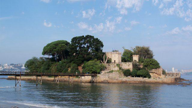 El Castillo de Santa Cruz de Oleiros.