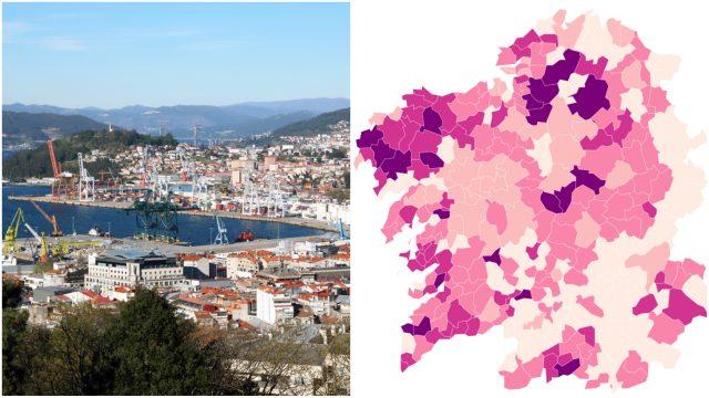Coronavirus Las Ciudades Y Municipios Más Afectados De Galicia Y Mapa De Incidencia