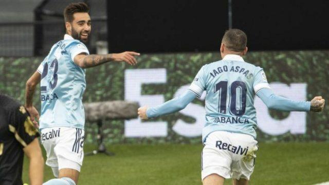 Iago Aspas se sitúa como el máximo asistente de la Liga tras el pase del 0-2 a Brais Méndez