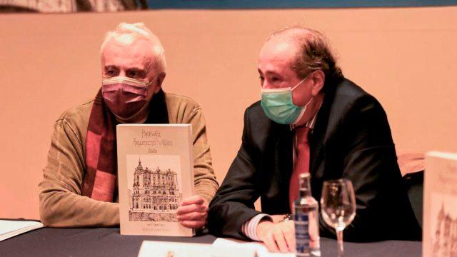José A. Martín Curty y Carlos Príncipe durante la presentación del libro.