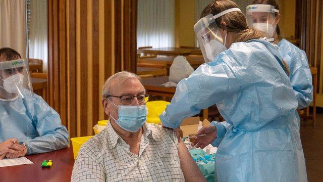 Imagen de archivo de vacunación