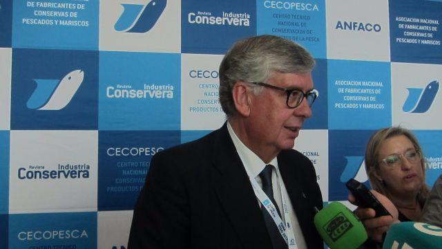 El secretario general de Anfaco-Cecopesca, Juan Vieites.