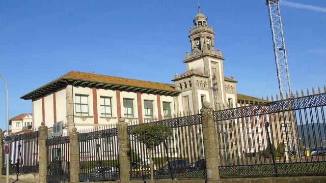 Escuela Naval de Marín.