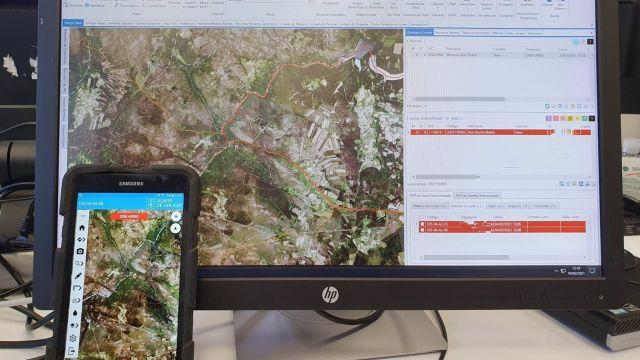 Nueva aplicación de la Xunta para la monitorización de incendios.