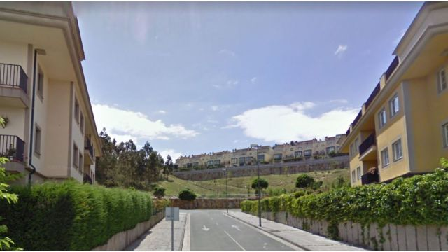 Calle Maastrich en La Zapateira (A Coruña).