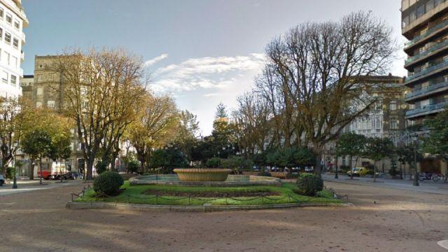 Plaza de Compostela de Vigo.